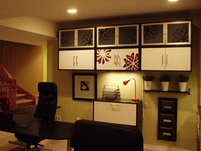 basement home office refresh tenivi designs basement home office