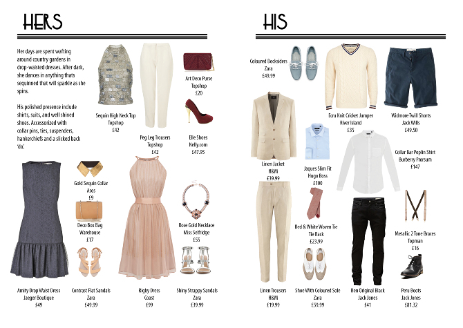 Series of editorial layouts for a fashion and lifestyle magazine